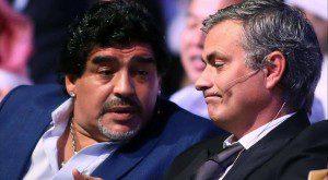 maradona_jose mourinho